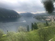 La Cassinella'dan Como Gölüne Bakış